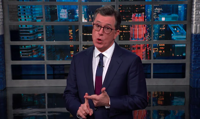 Stephen Colbert Is Grateful Trump Was 'Stupid' And 'Petty' Enough To Fire John Bolton