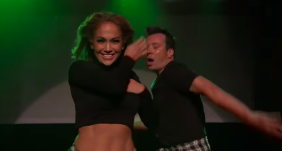 Jennifer Lopez And Jimmy Fallon Recreate The Most Iconic Dance Moves In Music Video History
