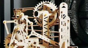 Build This (Mostly) Wooden Mechanical Roller Coaster With Your Actual Hands And Eyes