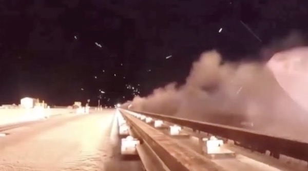 This Video Of A Rocket Sled Going 6,599 MPH Is Bonkers - Digg