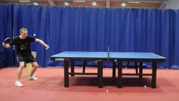 YouTubers Attempt The World's Fastest Table Tennis Serve
