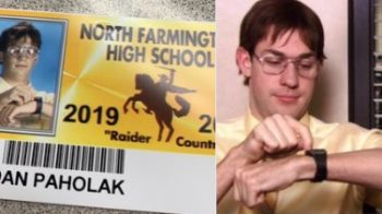A Michigan High School Let Seniors Take Their Student ID Photos Dressed Up As Pop Culture Characters, And They Did Not Disappoint