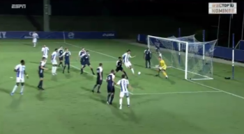 This College Soccer Heel Flick Goal Is Only Surpassed By Its Celebration