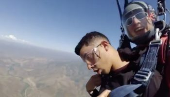 Guy Tries To Overcome His Fear Of Heights By Skydiving, Faints Three Times