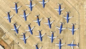 Losing Scale: Airports Seen From Above