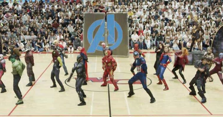 This High School Dance Team's 'Avengers' Dance Routine Is The Best Thing You'll See Today - Digg