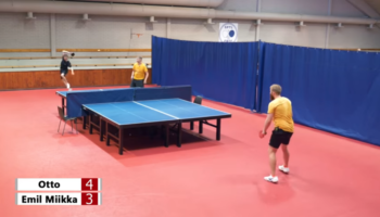 Is 2-Versus-1 Fair With An Extra Large Ping Pong Table?