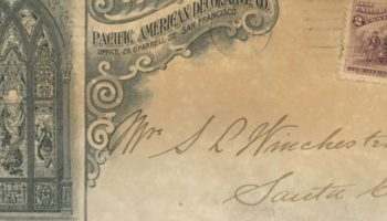 An Envelope, Hidden In A Wall For 100 Years, Helps Solve A Winchester Mystery House Riddle