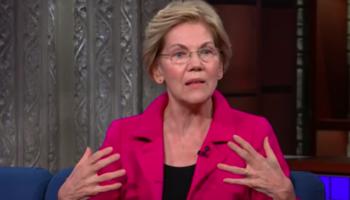 Elizabeth Warren Calls Donald Trump A 'Terrible President' In Stephen Colbert Interview
