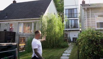 Guy Buys A 16-Foot-Wide Plot In Toronto And Cleverly Constructs A House To Fit Into It