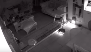 Guy Turns Two Robot Vacuums On While He Sleeps, Is Perplexed By The State He Finds Them In The Next Morning