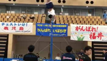 This Gymnast's High Bar Routine Is Absolutely Insane