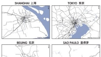 Urban Rail Transit In Large World Cities, Visualized