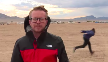 It's 'Storm Area 51' Day, And Yes, A News Camera Has Captured Someone Naruto Running