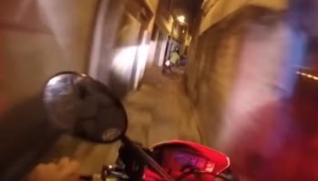 This Wild Motorcycle Police Chase Through São Paulo Is Straight Out Of A 'Bourne' Movie