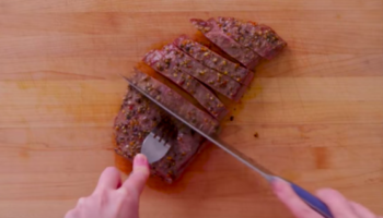 Three Different Levels Of Cooks Cook Their Version Of A Steak