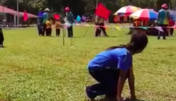 Relay Race Heads For An Unexpected Turn After One Kid Goes Completely Rogue