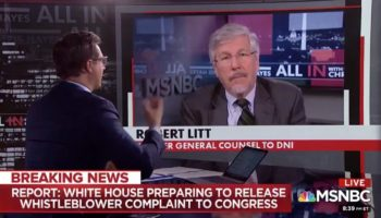 MSNBC Host Makes An Unintentionally Hilarious Hand Motion While Discussing Impeachment