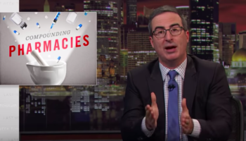 John Oliver Enlists The Help Of David Schwimmer, Ru Paul, Jimmy Kimmel And More To Warn Of The Dangers Of Compounding Pharmacies