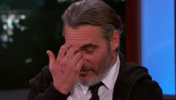 Joaquin Phoenix Embarrassed By 'Joker' Outtake In Uncomfortably Awkward Jimmy Kimmel Interview