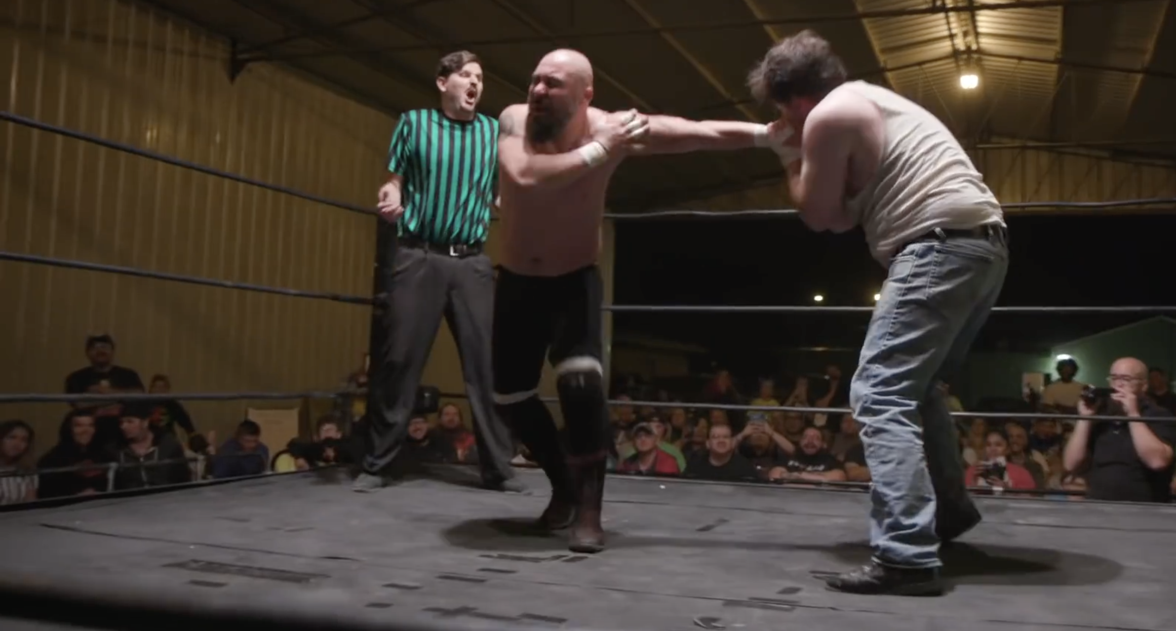 A Full Time Restaurant Manager And Part Time Wrestler, Meet 'Hobo Hank' - Digg