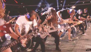 Watch 1,000 Musicians Play Rage Against The Machine