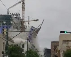Watch The Terrifying Moment The Hard Rock Hotel Collapsed In New Orleans