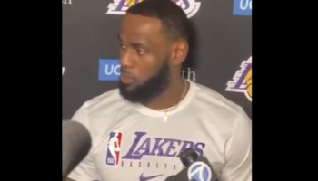 LeBron James Wades Into NBA/China Feud, Quickly Tries To Walk Things Back