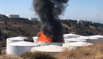 Onlooker Captures Massive Explosion At California Refinery