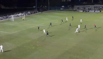 College Soccer Player Scores An Absurd Goal From The Other Side Of The Planet