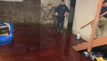 Blood Fills Iowa Family's Basement