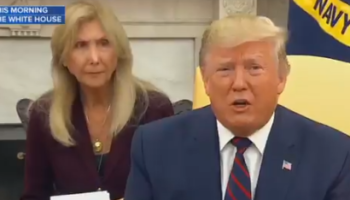 Italian Translator Has Priceless Reaction Of Bewilderment At Trump's Remarks About Syria