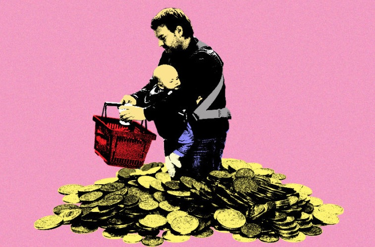 What It's Like To Be A Single Dad Living On Minimum Wage