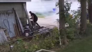 Guy Won't Stop Revving Motorcycle Engine, Gets Served With Instant, Fiery Karma