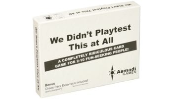 Bring Some Organized Chaos To Your Next Party With 'We Didn't Playtest This At All'