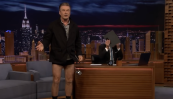 Alec Baldwin Drops His Pants During Jimmy Fallon Interview To Prove He's Lost Weight
