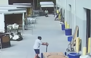 Warehouse Worker's Totally Normal Day At Work Gets Derailed By A 'Ghost Table'