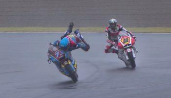 MotoGP Driver Avoids Crash With Miraculous Save