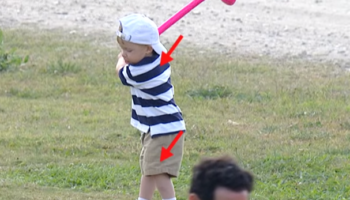 Golf Instructor Delivers Hilarious Analysis Of A 2-Year-Old's Golf Swing