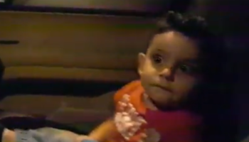 Lebanese Protests Take Unexpected Turn When Protestors Sing 'Baby Shark' To Toddler