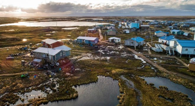 Climate Change Has Finally Caught Up To This Alaska Village