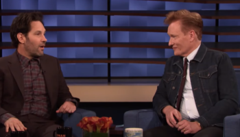 Paul Rudd Puts A Twist On His Longstanding Prank On Conan O'Brien