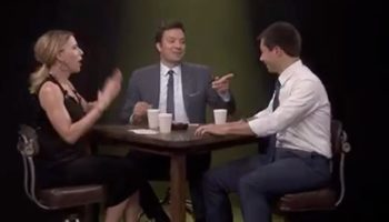 Pete Buttigieg Grills Scarlett Johansson Over Fishy Jellyfish Story On 'The Tonight Show'