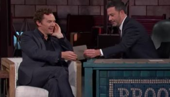 Benedict Cumberbatch Gets Challenged By Jimmy Kimmel To Read A Yelp Review with A Brooklyn Accent