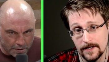 Watch The Full Uncut Interview Between Edward Snowden And Joe Rogan About Government Surveillance, Privacy...