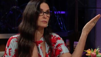 Demi Moore Gets Asked Which Male Co-Star Didn't Deserve Being Paid More Than Her, Calls Out Her Ex Bruce Willis