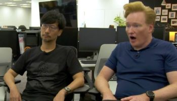 Conan Gets To Meet Video Game Legend Hideo Kojima And Has The Time Of His Life