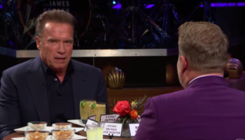 Arnold Schwarzenegger Admits To James Corden A Lie He Told When He Was Governor Of California