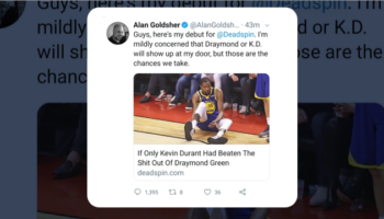 Writer Takes New Gig At Deadspin, Gets Ratioed Into Oblivion, Immediately Quits