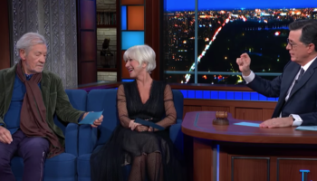 Helen Mirren And Ian McKellen Read The Transcript Of Trump's Ukraine Quid Pro Quo Call